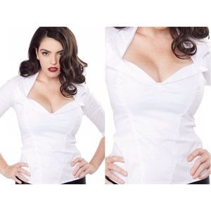 The Doris Top by Pinup Couture / PinupGirlClothing